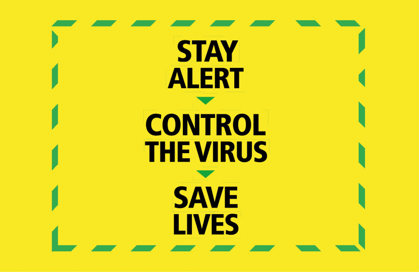 Stay Alert. Control the Virus. Save Lives.