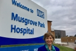 Rebecca Pow MP at Musgrove Park Hospital