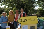 Rebecca Pow joins the NGS team at the first ever open allotments event at Priors