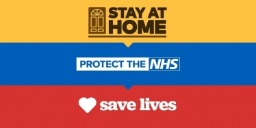 Stay at Home. Protect the NHS. Save Lives.